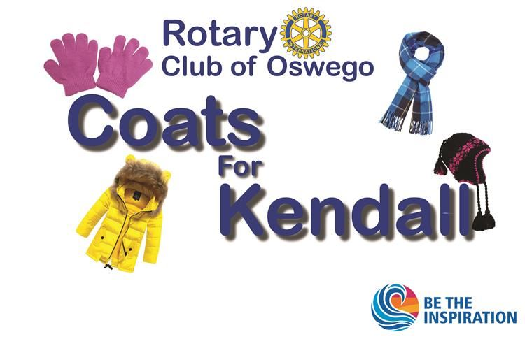 Rotary Club of Oswego Coats for Kendall Be the Inspiration